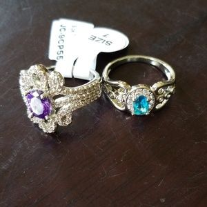 Set of Fashion Rings size 7